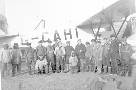 "Hudson Strait Expedition Personnel of Base ""C"" - October 1927"