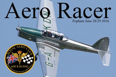 KDN over the airfield turn featured on the cover of the Royal Aero Club publication.