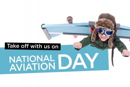 Take off with us on National Aviation Day!