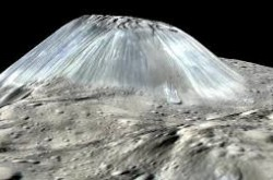 A digital reconstruction of a dormant ice-volcano on the dwarf planet Ceres