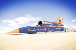 An image of the Bloodhound SSC rocket car