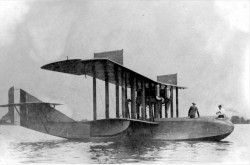 The first Felixstowe F-5L flying boat produced by Canadian Aeroplanes.