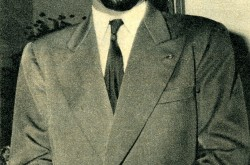 Charles Yves Joseph Éboué, then captain with the Union aéromaritime de transport. Maxime Reno, « Le coin du pilote – Charles Éboué, commandant de bord à l'U.A.T. » Aviation Magazine, 1 March 1958, 15.