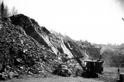 Emergency war mining project, Bathurst, New Brunswick, 1943