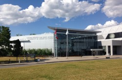 The front of the Canada Aviation and Space Museum