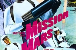 A poster for the movie Mission Mars
