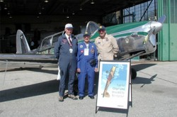 James, George, Dave and KDN at Downsview for the Chipmunk 60th anniversary