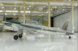 KDN safe and sound in the beautiful Bombardier Delivery hangar