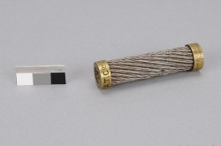 Section of the transatlantic telegraph cable manufactured in 1857 by Newall and Co. Canadian Museum of History, 2011.38.1