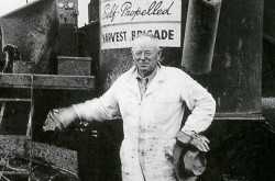 Tom Carroll upon his retirement in 1961: Courtesy of AGCO Ltd.