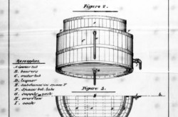 Sleeman and Steele's Temperated Fermenting Tub, 1874 (Patent No. 2717). Source: Library and Archives Canada/e003245291
