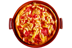 La pizza hawaïenne