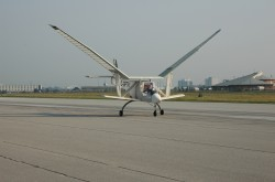 The University of Toronto Institute for Aerospace Studies Great Flapper ornithopter during trials, Malton, Ontario, 2005. http://www/ornithopter.net