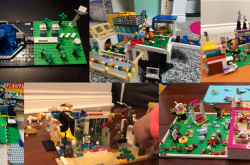 Collage of Contest Winning LEGO® Creations