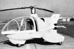 Le seul et unique Monte-Copter Modèle 15 Triphibian, Seattle, Washington. Anon., « World Air News. » Air Pictorial, mai 1960, 167.