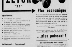 "An advertisement from Langlais & Frère Incorporée of Québec, Québec, extolling the merits of the Zetor 25 tractor. Anon. ""Advertising – Langlais & Frère Incorporée."" L'Action catholique, 3 March 1951, 14."