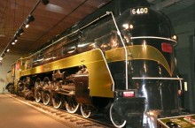Locomotive «6400/U4A» de Canadian National Railways