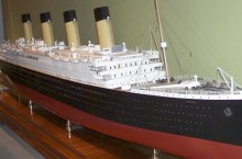 Bassett-Lowke Ltd. Titanic Model