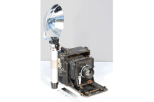 Appareil-photo « Speed Graphic » de Folmer Graflex Corp.